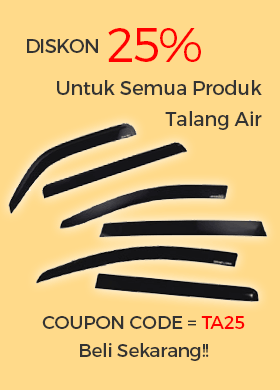Disc 25% Talang Air